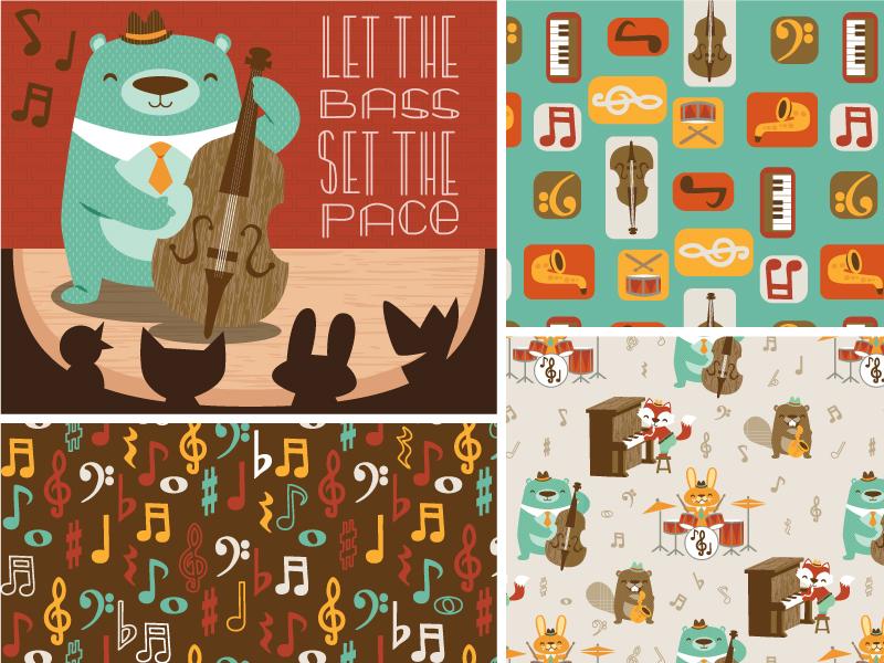 animal jazz quartet collection