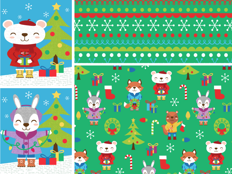 christmas critters collection